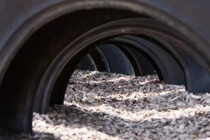The Three Dangers of Using Rubber Mulches on Commercial Property